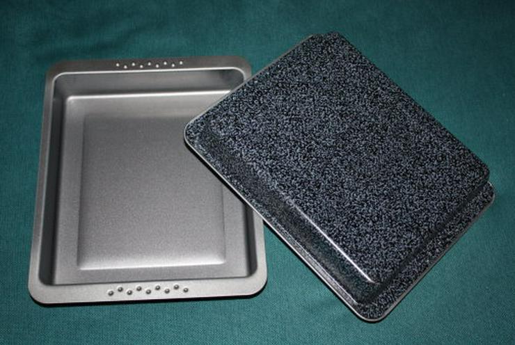 Bild 3: Bratform Auflaufform Backform Grillform 2er Set Lasagneform NEU