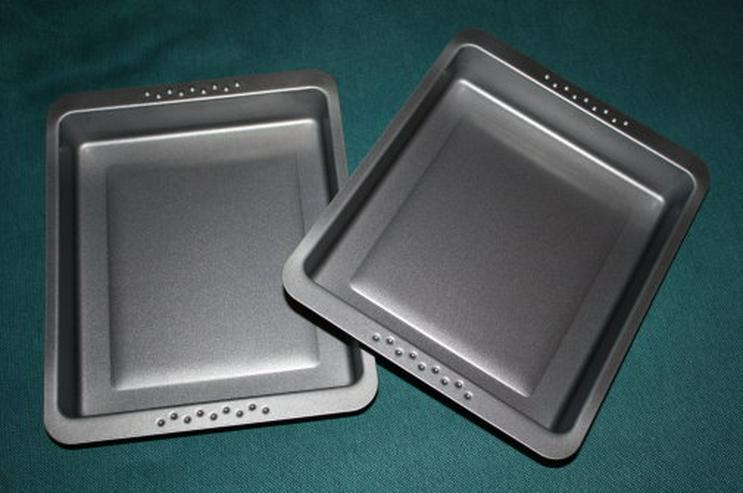 Bild 2: Bratform Auflaufform Backform Grillform 2er Set Lasagneform NEU