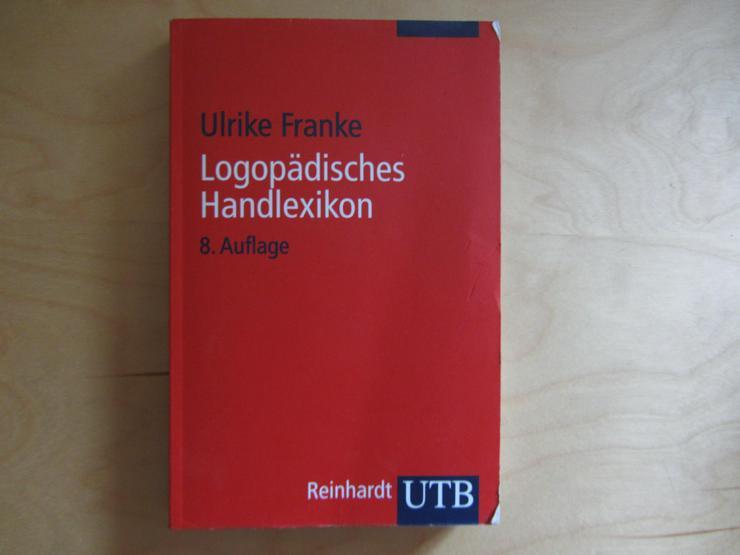 Berufsaufgabe Logopädisches Handlexikon, Ulrike Franke, 8. Auflage 2008 - Gesundheit - Bild 1