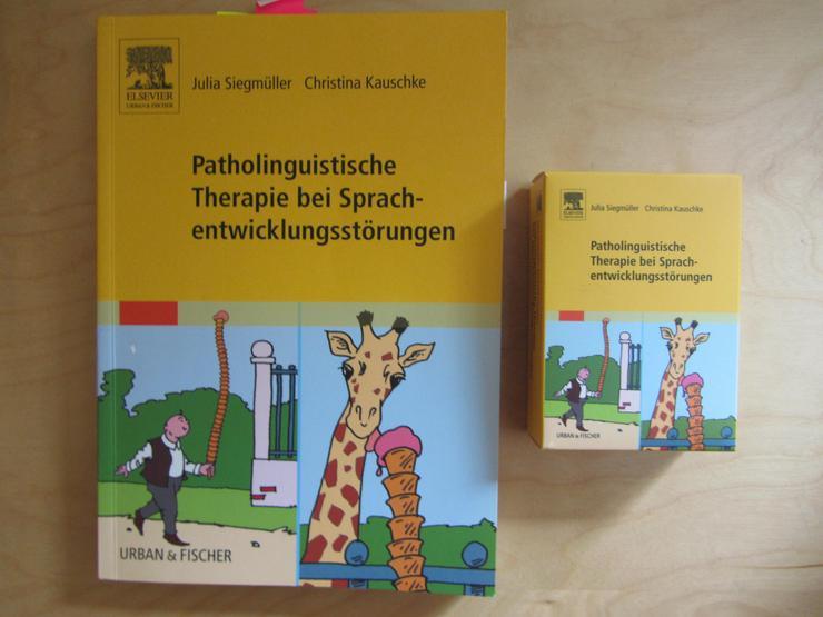 Berufsaufgabe Logopädie - Patholinguistische Therapie bei Sprachentwicklungsstörungen (incl. unversehrtem Kartensatz) nach J. Siegmüller/ Ch. Kauschke - Gesundheit - Bild 1