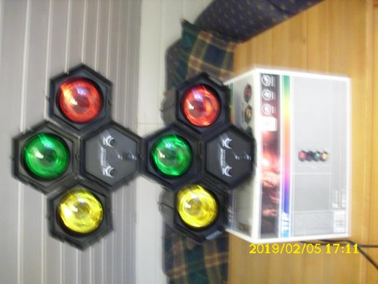 Bild 3:  TIP 3767 Sound & Licht Tower 3 x 40 W E 27 Lichtorgel Disco Party Lichteffekt DJ