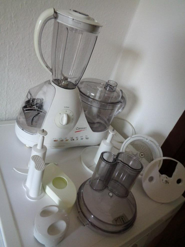 Solac Universale Küchenmaschine Compact Mod. Nr. 103 Komplett Funktioniert