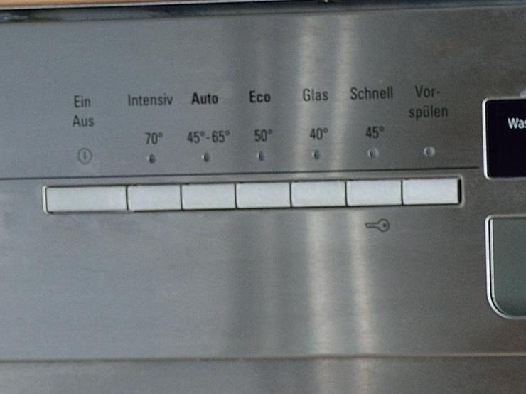 Geschirrspüler für Unterbau Siemens iQ500 60 cm Edelstahl