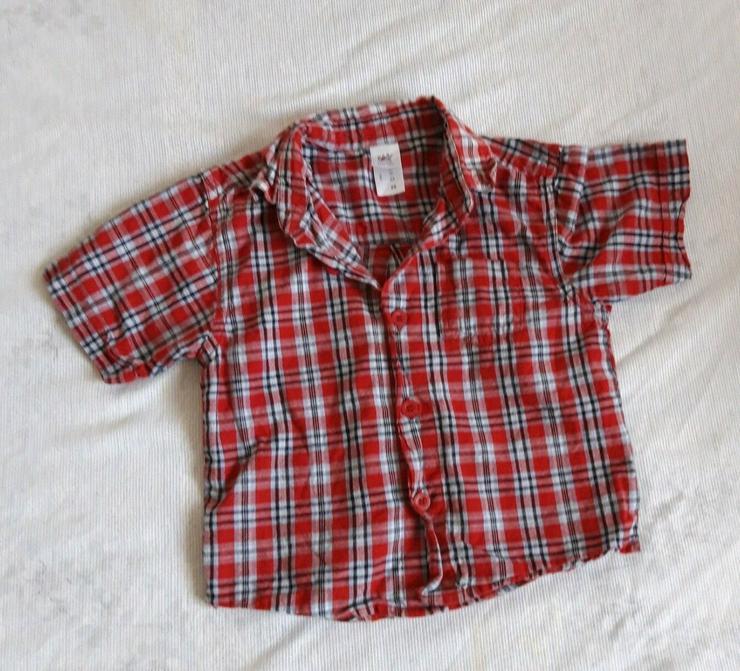 Baby Jungen k.u.l.Arm Hemden Gr. 62-68 (2Teile)
