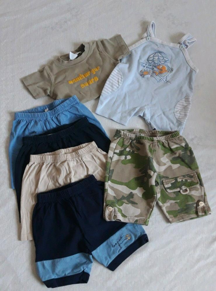 Baby Jungen Sommer Bekleidungspaket Gr. 62-68 (8Teile)