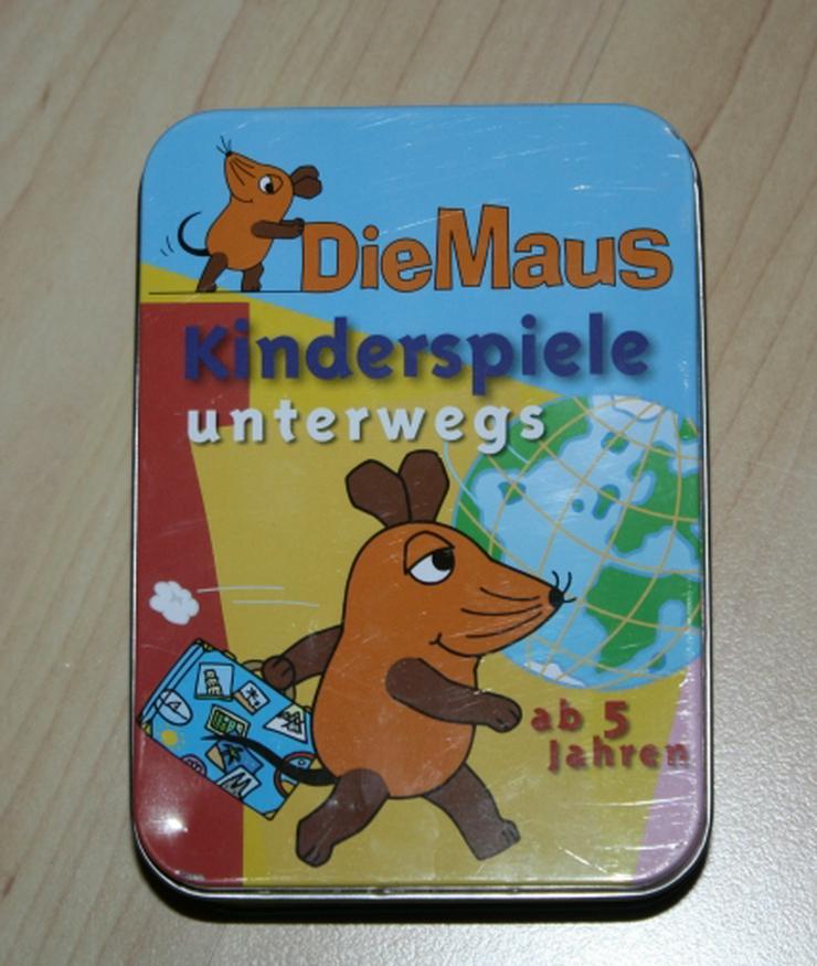 Die Maus Kinderspiele unterwegs 50 Reisespiel Wortspiel Ratespiel
