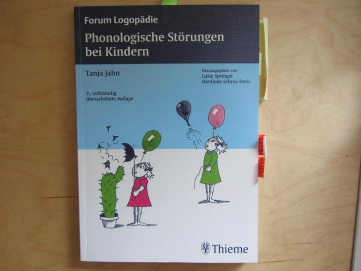 Berufsaufgabe Logopädie Phonologische Störungen bei Kindern, Tanja Jahn, 2. Auflage 2007 - Gesundheit - Bild 1