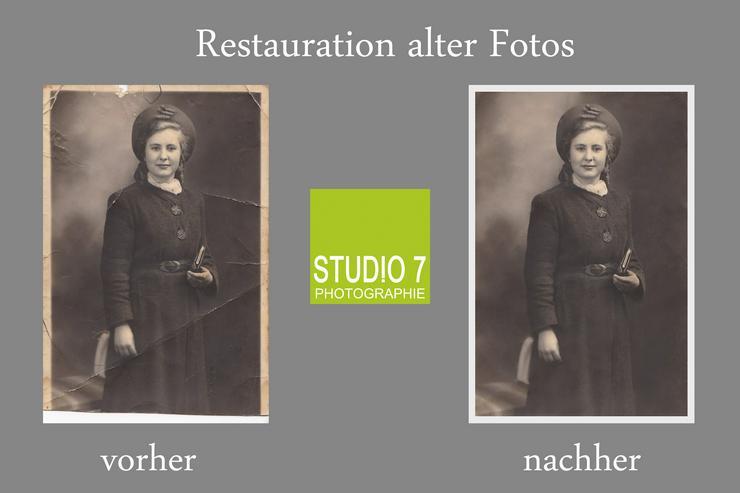 Restauration und Digitalisierung alter Fotos