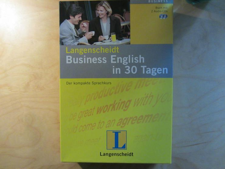 Bild 2: Langenscheidt Business English in 30 Tagen, 2 Audio-CDs + Begleitbuch