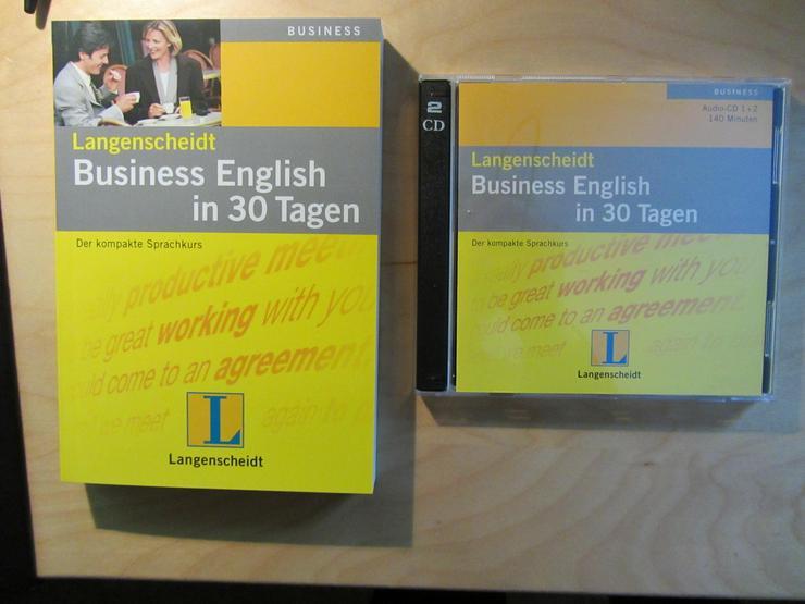 Langenscheidt Business English in 30 Tagen, 2 Audio-CDs + Begleitbuch - Lernen & Weiterbildung - Bild 1