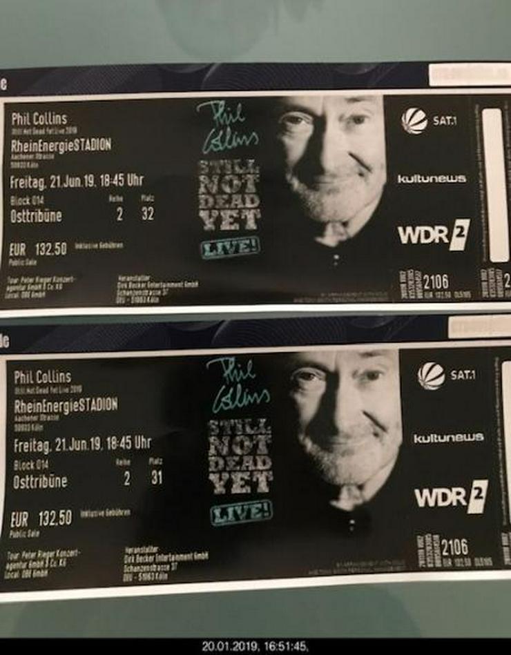 2 Tickets Phil Collins, 21.06.2019