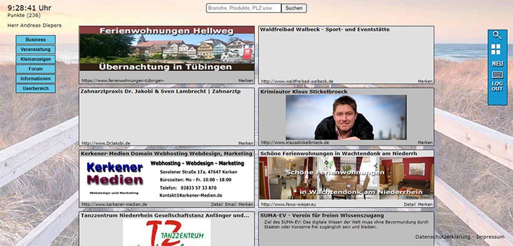 Qutrigo - Werbung für Business, gratis Inserate für Veranstaltungen und Kleinanzeigen