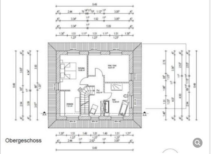 Bild 2:  Freistehendes Einfamilienhaus im Neubaugebiet zu verkaufen