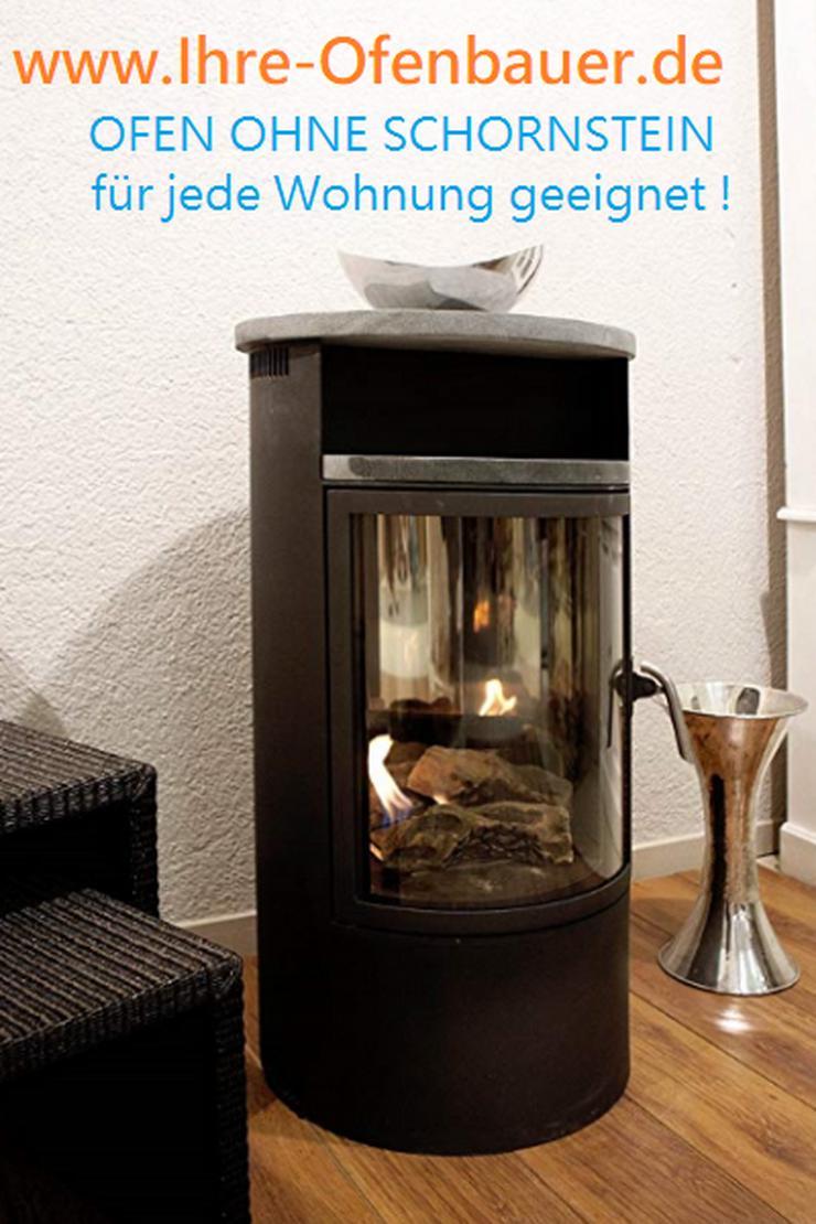OFEN OHNE SCHORNSTEIN-für jede Wohnung geeignet--mit Bioethanol betrieben