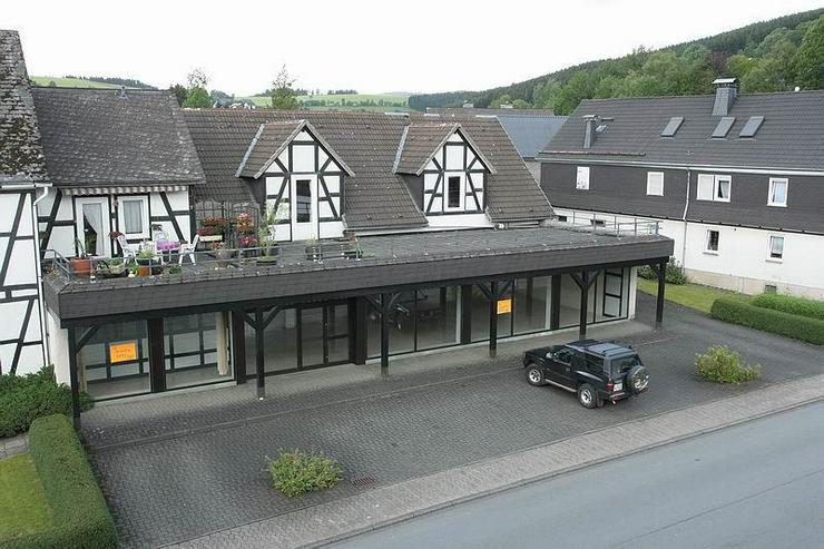 Bad-Berleburg: Privat & Gewerbe unter einem Dach - zu verkaufen oder zu vermieten!