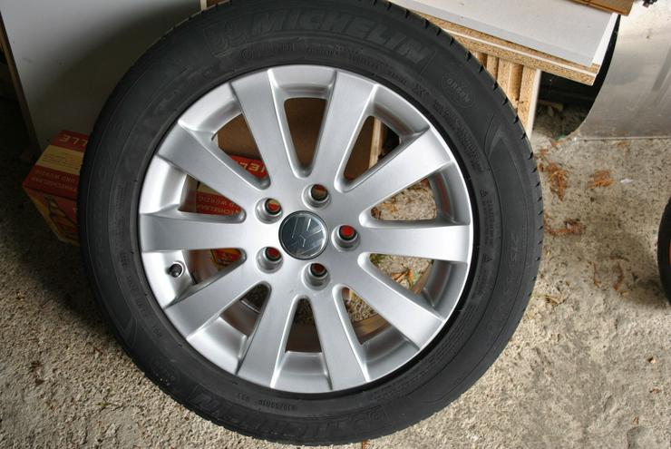 VW Alufelge mit Sommerreifen - Sommer-Kompletträder - Bild 1