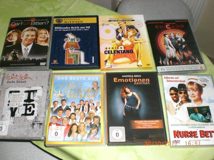 8 DVD (Filme) gemischt