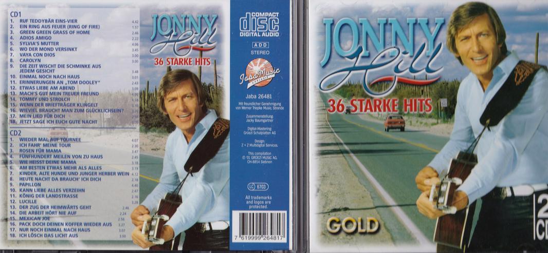 36 Starke Hits von Jonny Hill (2008)