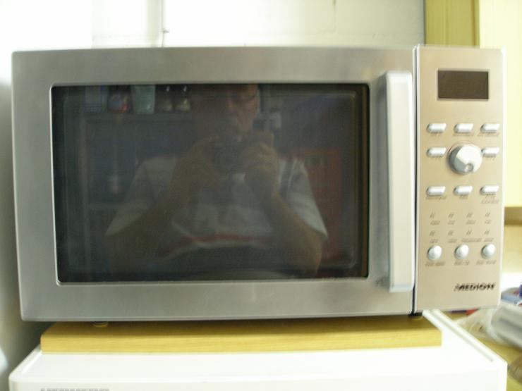 Mikrowelle mit Heißluft und Grill
