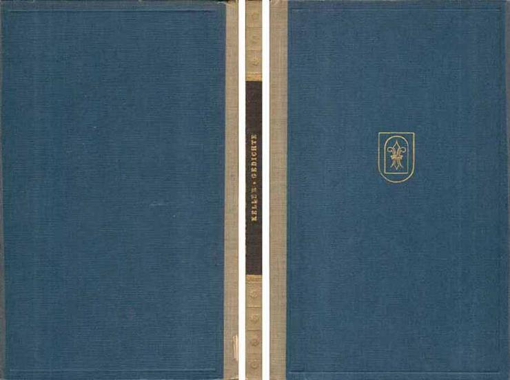 Gottfried Keller - Gedichte - Romane, Biografien, Sagen usw. - Bild 1