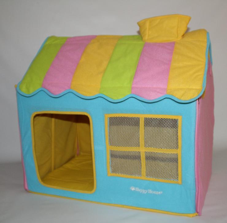 Hundehütte / Hundehaus House Design gelb