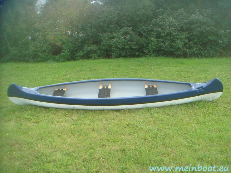 Neues 3er Kanu / Kanadier 500 - Kanus, Ruderboote & Paddel - Bild 1