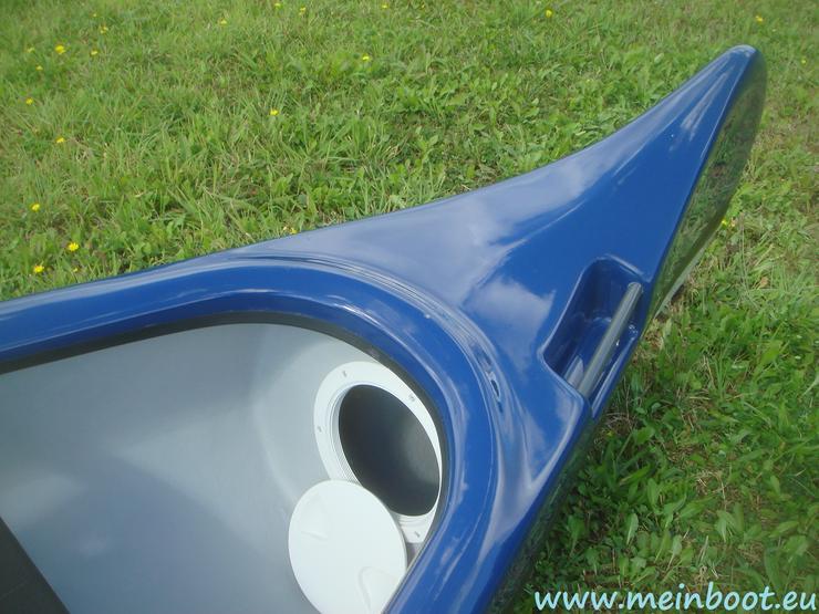 Bild 5: Kanu 3er Kanadier 500 Neu ! in blau /weiß