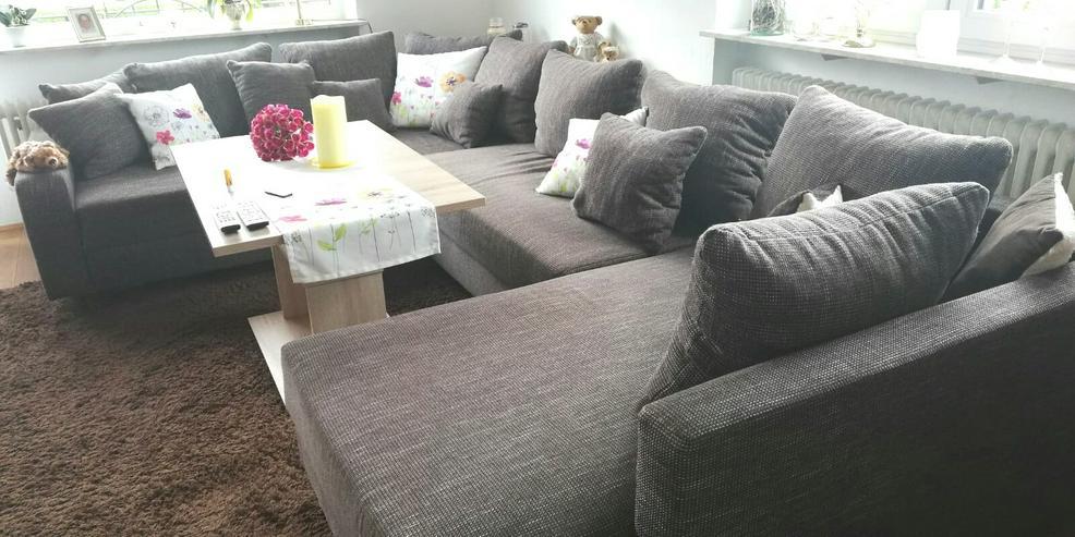 Bild 3: Couch braun