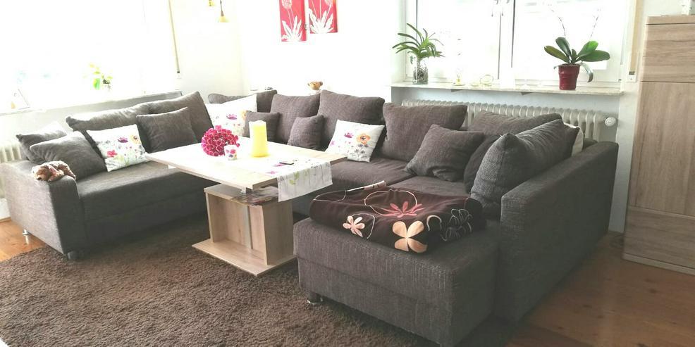Bild 2: Couch braun