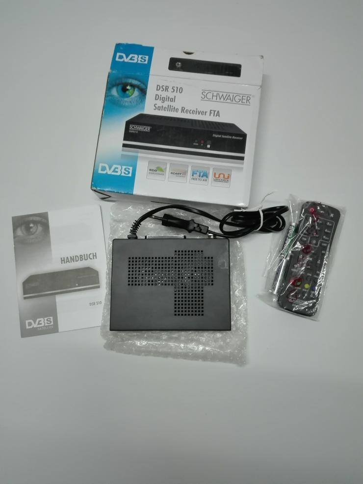 Schwaiger Sat Receiver - DVB-T-Receiver, Antennen & Sticks - Bild 1