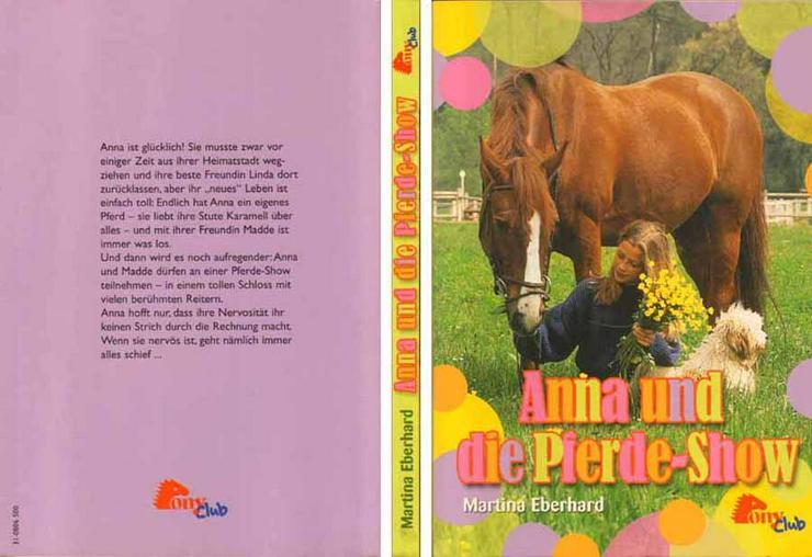 Taschenbuch von Martina Eberhard - Anna und die Pferde-Show - 2007