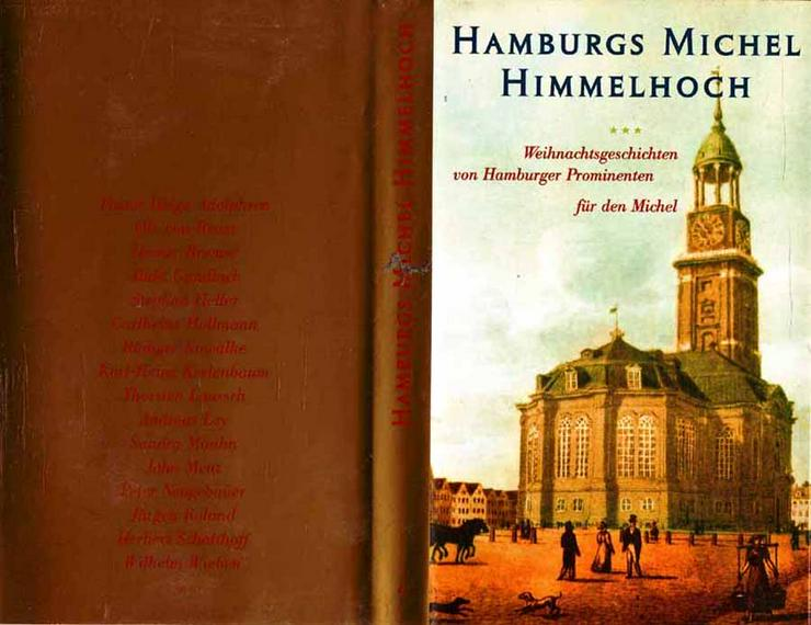 Hamburgs Michel himmel hoch - Weihnachtsgeschichten von Hamburger Prominenten - Romane, Biografien, Sagen usw. - Bild 1