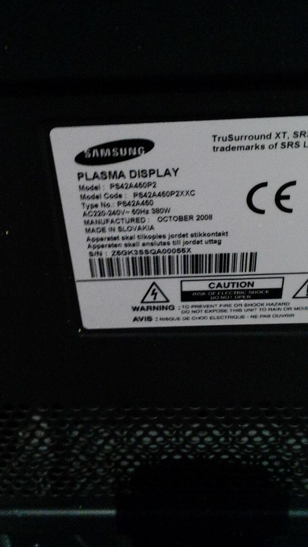 Samsung HD Flachbild Fernseher