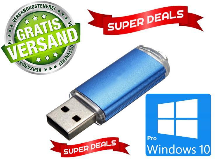 Windows 10 Professionale 64/32 bit Boot Version mit 8 GB Metallic - Betriebssysteme - Bild 1