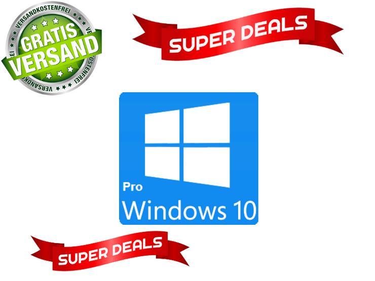 Windows 10 Professionale 64/32 bit Poduktschlüssel - Betriebssysteme - Bild 1