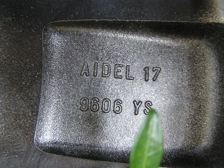 Bild 5: Verchromte Alufelge Peugeot 307 AIDEL 17 Zoll