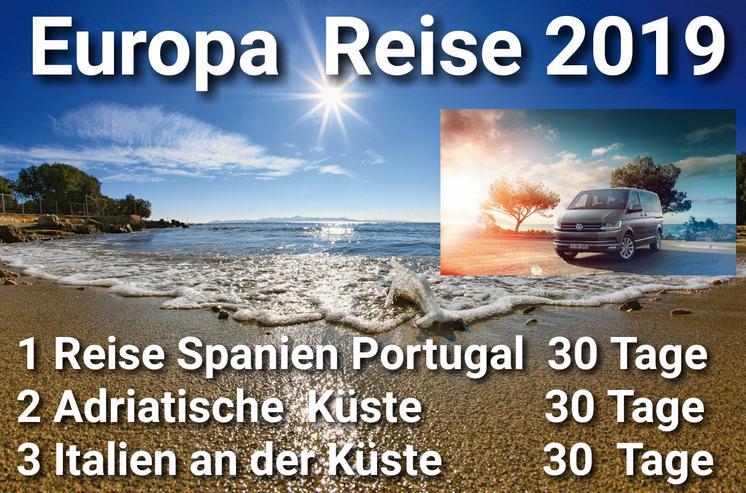 Europa Reise.2019  Spanien  Portugal  Adriatische Küste