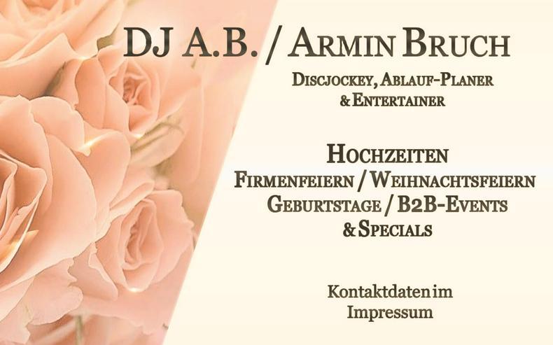 DJ Hochzeit / Hochzeits DJ - Bad Nauheim & Weilmünster - Hessen