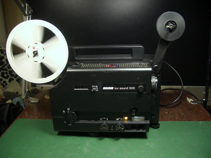 Revuelux Sound 500 Super 8  Tonfilmprojektor bis 180 Meter Spulen