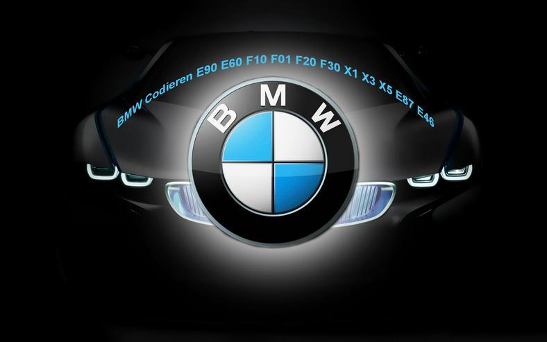BMW Codieren Kodieren E90 E60 F10 F01 F20 F30 X1 X3 X5 E87 E46