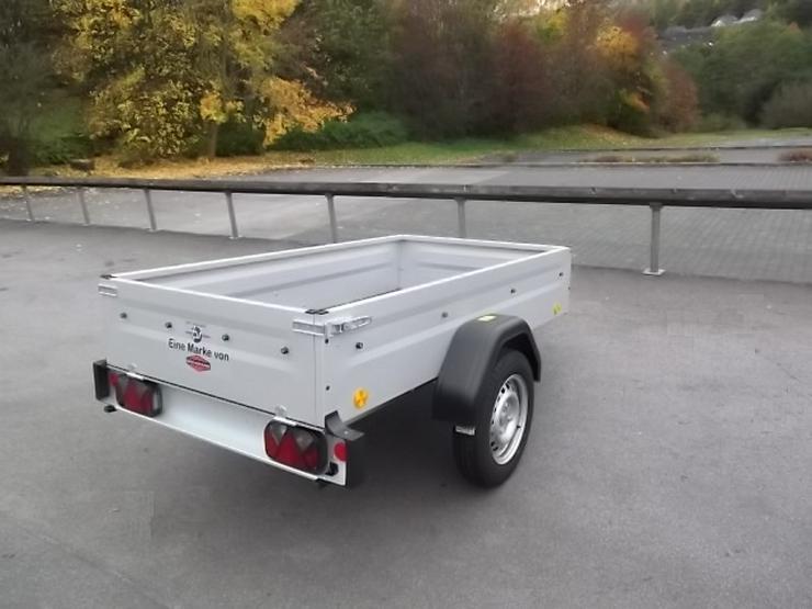 Bild 3: 750 kg BÖCKMANN-TPV Anhänger mit 100 km/h NEU