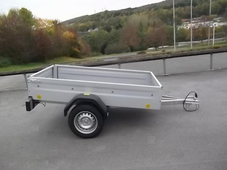 Bild 2: 750 kg BÖCKMANN-TPV Anhänger mit 100 km/h NEU