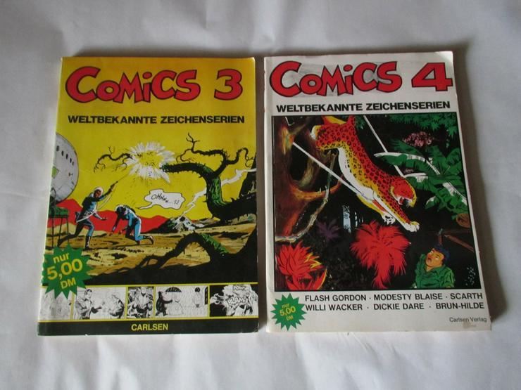 2 großformatige COMICS