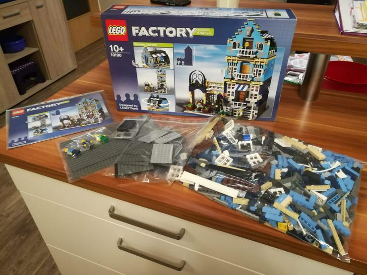 Lego 10190 Market Street 100% Original mit BA und OVP