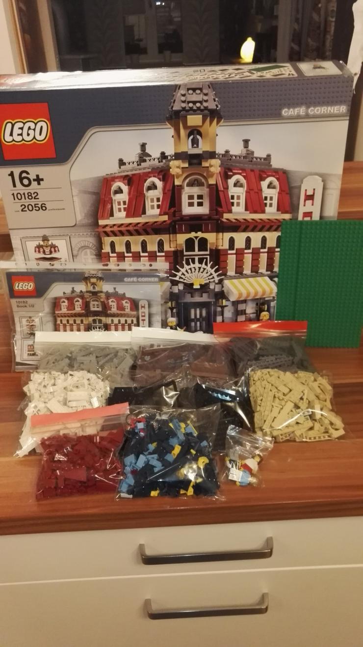 Lego 10182 Cafe Corner 100% Original mit BA und OVP Rar