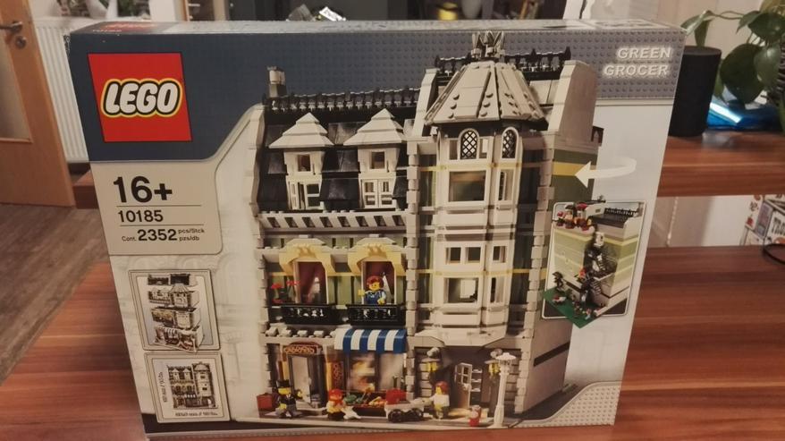 Lego 10185 Green Grocer 100% Original mit BA und OVP Rar