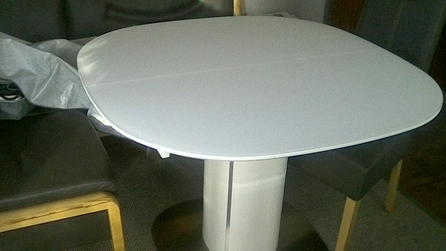 Weissen Kulissen Tisch