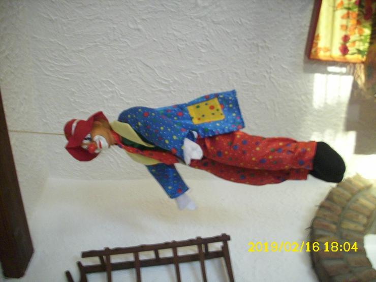 Clownpuppe zum Hängen oder Sitzen