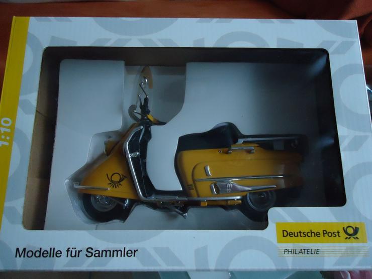 """Roller der """"Deutschen Post"""" HEINKEL Model Schuco NEU in Orig.Verp. Limitierte Auflage"""