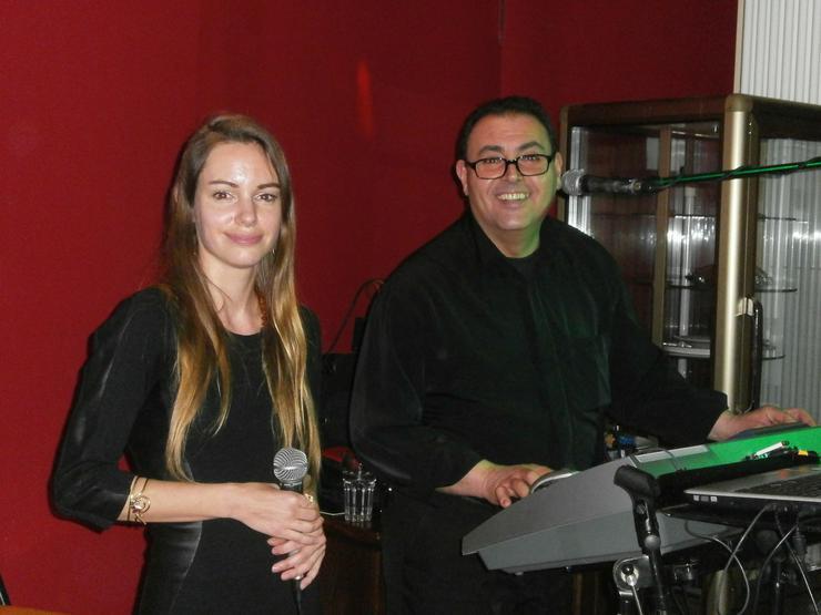 Italienische Duo Ciao für ihre Veranstaltung